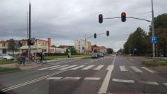 """""""Bezpieczna droga do szkoły"""" akcja malborskiej Straży Miejskiej - 05.09.2016"""