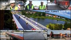 3. października pojedziemy nowym mostem na rzece Nogat w Malborku. Zapraszamy na wideo raport z budowy – 02.09.2016