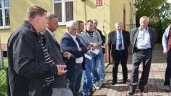 Nie mogą sobie poradzić z władzami powiatu nowodworskiego. Ostry protest rolników i przedsiębiorców w Ostaszewie. Pełne nagranie wideo - 05.09.2016