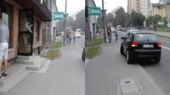 Jazda pod prąd, parkowanie w miejscu nie wyznaczonym. Kolejny inteligent za kierownicą. Mistrzowie(nie tylko)parkowania w Malborku - 10.09.2016