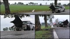 Kolejny wypadek na łuku za Starym Polem. Dwie kobiety trafiły do szpitala – 23.09.2016