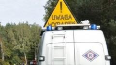 Uwaga! Wypadek na DK nr 22 pomiędzy mostem na Wiśle a skrętem na miejscowość Bystrze – 26.09.2016