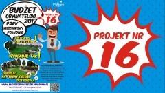 Park Kieszonkowy Południe w Malborku. Zagłosuj na projekt nr 16 w Budżecie Obywatelskim 2017. Głosowanie trwa od 1 do 30 listopada