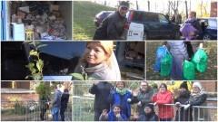 """DZIERZGOŃ: Ok. 5 ton surowca i ponad 100 uczestników akcji """"Drzewko za makulaturę"""" (RELACJA WIDEO + GALERIA) - 29.10.2016"""