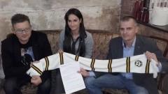 PETTEGOLEZZO nowym sponsorem POMEZANII Malbork. Logo pracowni trafi na koszulki drużyny seniorów - 04.11.2016