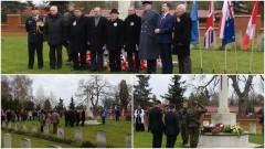 REMEMBRANCE DAY, czyli Uroczystości na Cmentarzu Żołnierzy Wspólnoty Brytyjskiej przy 500-lecia w Malborku - 14.11.2016