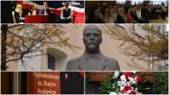 Uroczysty apel z okazji 100 rocznicy śmierci H.Sienkiewicza - Patrona I LO w Malborku - 15.11.2016