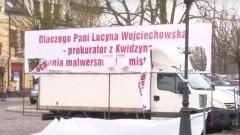 Finałowa rozprawa w sprawie o zniszczenie zniesławiającego banneru przez burmistrza Sztumu – 21.11.2016