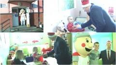 Burmistrz-Mikołaj odwiedził małych pacjentów malborskiego szpitala - 06.12.2016