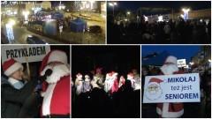 """Święty Mikołaj przybył do Malborka! """"Miejska zabawa mikołajkowa"""" na placu Kazimierza Jagiellończyka - 06.12.2016"""
