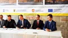 Umowa na projekt transportowy w ramach MOF Malbork-Sztum podpisana - 12.12.2016