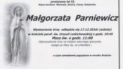 Zmarła Małgorzata Parniewicz. Żyła 55 lat.