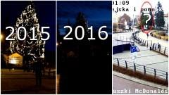 Malbork: Co się stało z choinką przy Placu Jagiellończyka?