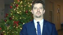 Życzenia świąteczno - noworoczne Burmistrza Miasta Malborka Marka Charzewskiego – 20.12.2016