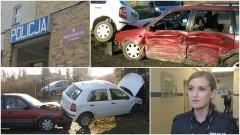 Wypadek w Dąbrówce Malborskiej. Poszkodowani trafili do szpitala w Malborku oraz w Sztumie - 30.12.2016