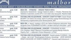 Festiwalowe kolędowanie z zespołami Pectus, Poznańskie Słowiki, Balbiny i Florius. Sprawdź harmonogram - 06-20.01.2017