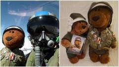 Wylicytuj dla WOŚP miniaturkę Misia Bogusia z 22 Bazy Lotnictwa Taktycznego - 13.01.2017