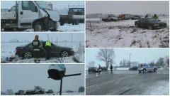 DK22: Kolejny wypadek na tym skrzyżowaniu. Trzy osoby poszkodowane – 13.01.2017