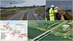 Żuławy. Realizacja trasy S7 na odcinku Koszwały - Nowy Dwór Gdański wchodzi w kolejny etap - 20.01.2017