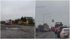 Malbork: Stan przedzawałowy i transport helikopterem do szpitala. Zobacz wideo – 26.01.2017