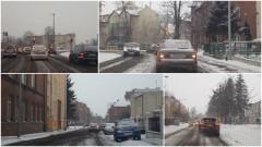 Zasypane ulice i chodniki. Akcja zima, czyli odśnieżanie w Malborku - 07.02.2017