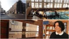 Warsztaty aktorskie z Dorotą Gorjainow w I Liceum Ogólnokształcącym w Malborku im. Henryka Sienkiewicza - absolwentką tej szkoły - 16.02.2017