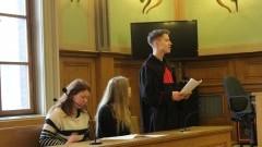Uczniowie II LO wzięli udział w warsztatach w malborskim Sądzie Rejonowym - 17.02.2017