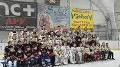VII edycja rozgrywek Regionalnej Ligi Hokeja na Lodzie w Malborku zwycięzcą UKS Bombek SP3 - 26.02.2017