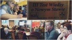 """Musieli się sporo """"nagłówkować"""". III Test Wiedzy o Nowym Stawie - 10.03.2017"""
