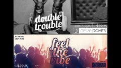 Feel The Vibe! i Double Trouble - Dołek Club zaprasza 07-08.04.2017