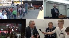 Młodzież z wizytą na Wiejskiej. Senator Leszek Czarnobaj o pracy w Parlamencie - 03.04.2017