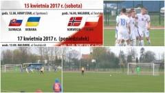 Słowacja zremisowała z Ukrainą - były karne. Wielkanocny Turniej UEFA Development w Nowym Stawie. Piłkarskie emocje na najwyższym poziomie - 15-04.2017
