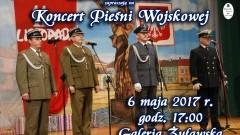 Zapraszamy na koncert Pieśni Wojskowej w Nowym Stawie - 06.05.2017