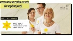 """,,Pamięć to życie"""" - uczniowie I Liceum Ogólnokształcącego w Malborku pamiętają.- 25.04.2017"""