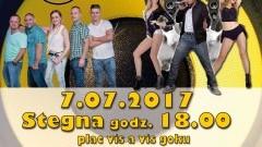 """Stegna. Zapraszamy na Galę Disco! Gwiazdą wieczoru będzie """"Bobi"""" - 07.07.2017"""