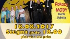 """Stegna. Zapraszamy na Galę Disco! Gwiazdą wieczoru będzie """"Andre"""" - 18.08.2017"""