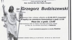Zmarł Grzegorz Budziszewski. Żył 46 lat.