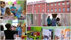 Uśmiech pomaga im w walce z chorobą. Dzień Dziecka w szpitalu w Malborku i Nowym Dworze - 01.06.2017