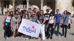 Malborscy gimnazjaliści gościli u Królowej Jadwigi - 08.06.2017