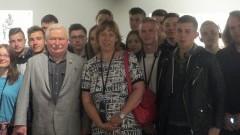 """Podążając drogą """"Solidarności"""" . Uczniowie II LO w Malborku odwiedzili Europejskie Centrum Solidarności w Gdańsku"""