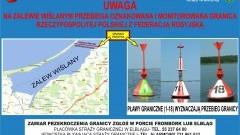 Komendant Morskiego Oddziału Straży Granicznej w Gdańsku przypomina o zasadach przekraczania granicy państwowej na Zalewie Wiślanym.