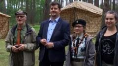Malbork : Burmistrz odwiedził malborskich harcerzy na obozie w Papierni - 04.07.2017