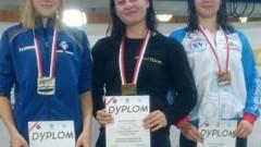 Malbork : Srebrny medal Alicji Krauze na Mistrzostwach Polski w Pływaniu - 14 - 16.07.2017