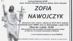 Zmarła Zofia Nawojczyk. Żyła 88 lat.