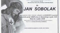 Zmarł Jan Sobolak. Żył 88 lat.