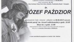 Zmarł Józef Paździor. Żył 90 lat