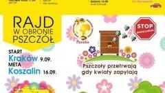 Dzierzgoń : Zapraszamy na rajd w obronie pszczół! - 14.09.2017