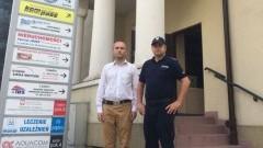 Malbork : Policjanci współpracują z Ośrodkiem Pomocy dla Osób Pokrzywdzonych - 24.08.2017