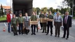 Malbork : Mieszkańcy przekazali dary dla ofiar nawałnicy - 25.08.2017