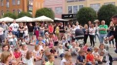 """Spektakl kukiełkowy """"Czerwony Kapturek"""" na Kościuszki w Malborku i kino letnie dla dzieci przy Wałach von Plauena z okazji kończących się wakacji - 26.08.2017"""